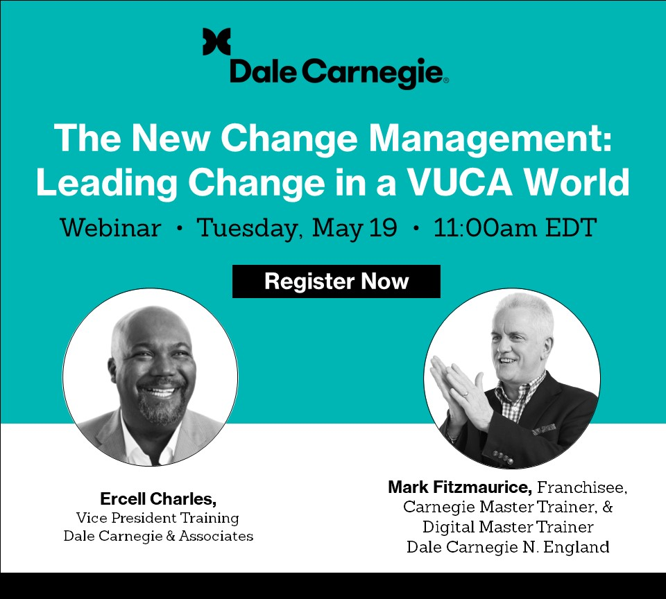 leading change in a VUCA world 2 male presenters
