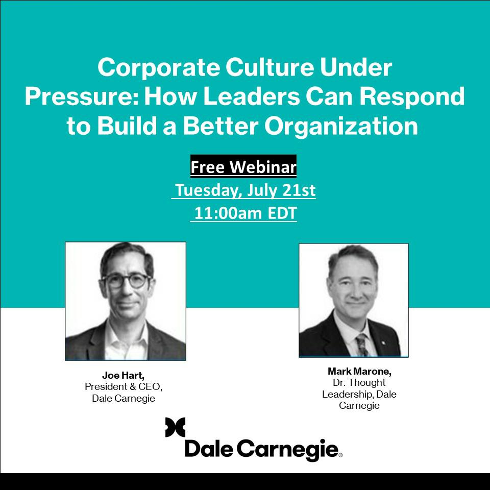 joe hart and mark marone webinar corporate culture