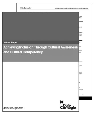 Achieving Inclusion white paper cover